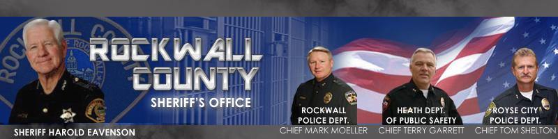 Rockwall County Sheriff's Office - Contact