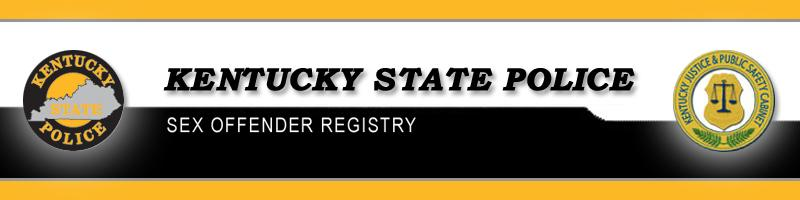 Kentucky State Police Sex/Criminal Offender Registry