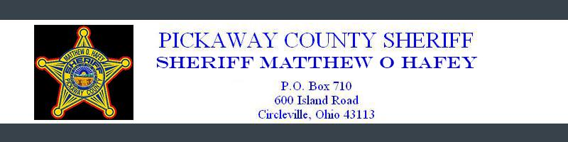 Pickaway County Ohio Sheriff's Office