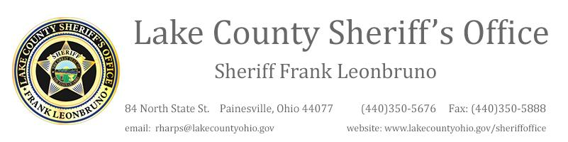 Lake County Ohio Sheriff's Office