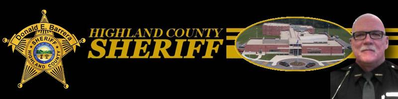 Highland County Ohio Sheriff's Office