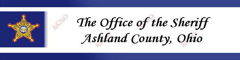 Ashland County Ohio Sheriff's Office