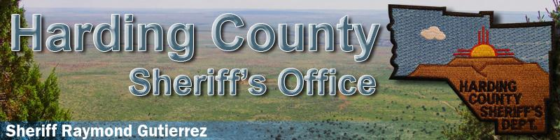 Harding County NM Sheriff's Office